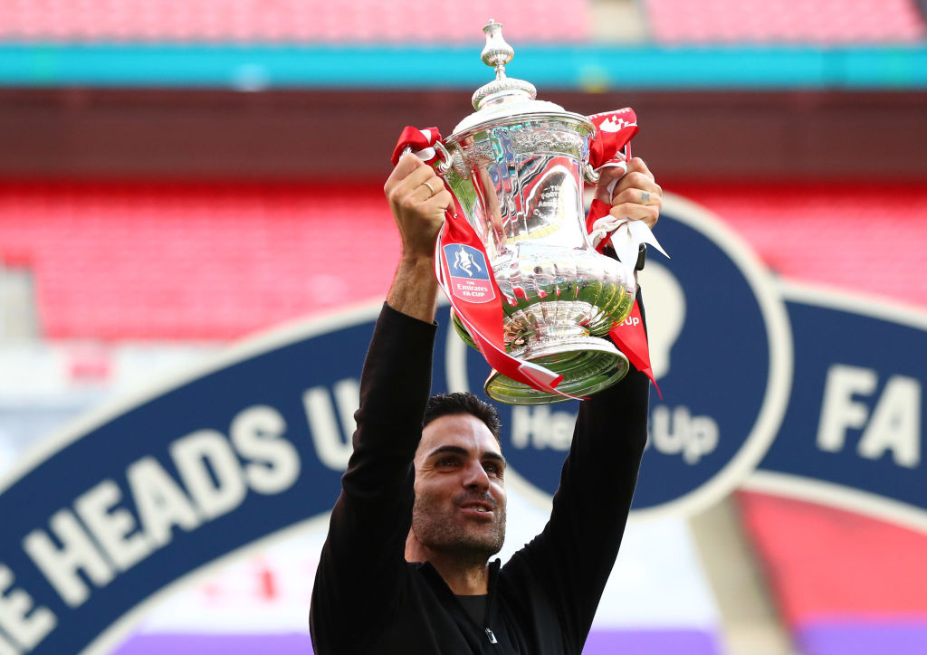 I think its even better winning this than as a player. Mikel Arteta has described winning the FA Cup today as one of the greatest moments of his career. More: bbc.in/39YNNp7