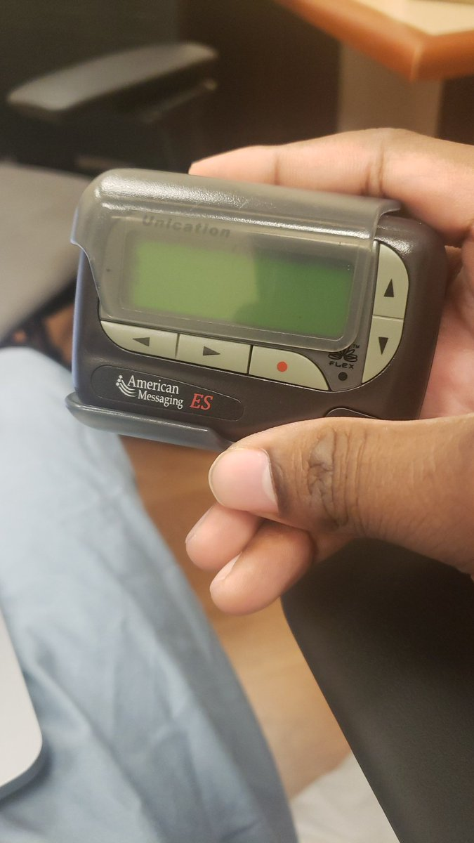 @StephenRoylance Still rocking the old school pager where Im at