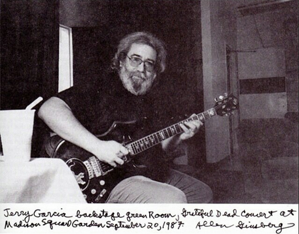 - Happy Birthday Jerry Garcia from The Allen Ginsberg Project -