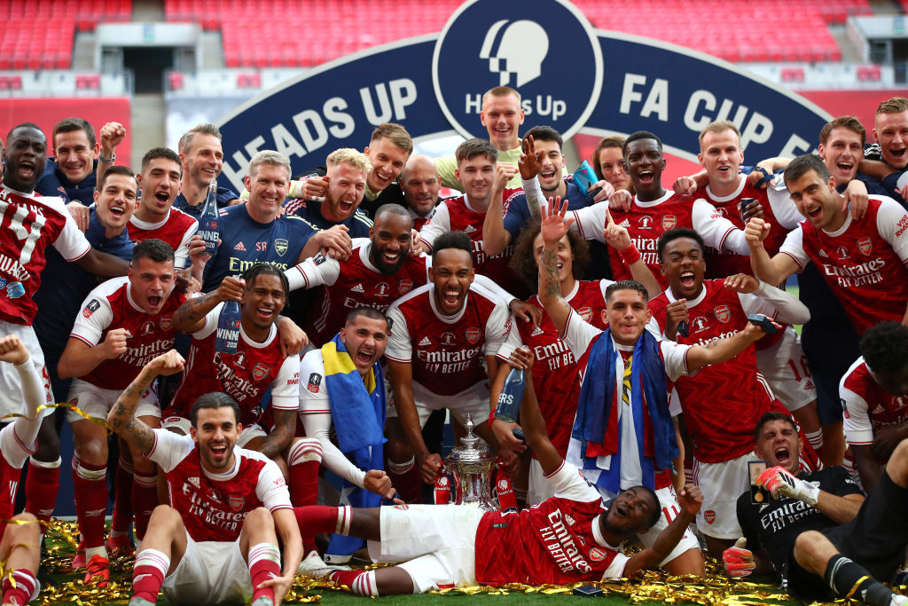 The Wembley showpiece that deserved so much more. As Arsenal beat Chelsea to lift the FA Cup behind closed doors, BBC Sport chief football writer Phil McNulty reflects on a surreal experience. ➡ bbc.in/2BQtqxF