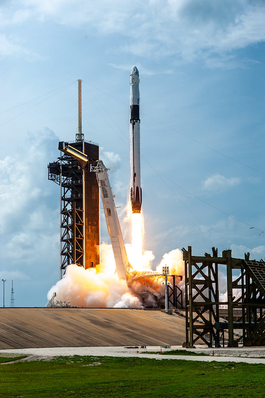 #ICYMI the duo launched from Kennedy Space Center on May 30 atop a @SpaceX Falcon 9 rocket. Now after over two months in space, the astronauts are heading back to Earth and targeting splashdown off the Florida coast on Aug. 2 at 2:48 p.m. ET: nasa.gov/live