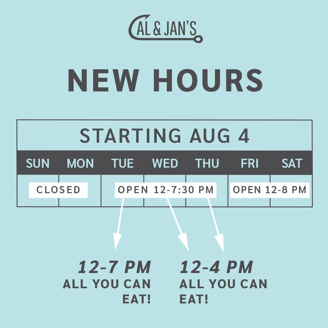 We're changing our hours! . . . . #fishandchips #fish #chips #surrey #surreyeats #mycityofsurrey #momandpop #maandpa #restaurant #tasty #goodfood #delicious #lunch #dinner #doordash #skipthedishes #allyoucaneat #surreynowleader #dailyhivevan #shoplocal #storetodoorpic.twitter.com/7UM0xcXu32