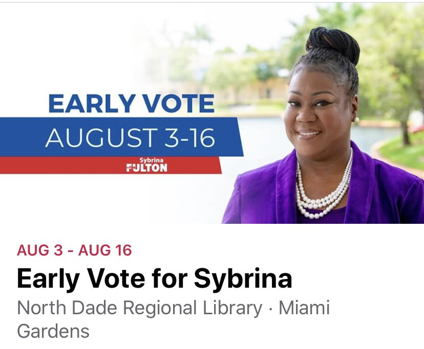 I'm running 4 Miami Dade County Commissioner D1, bc you can't keep electing the same ppl & think things will chg. Together we can make the chg!! #TeamSybrinaFulton #PeopleOverProfit #Punch330 #NatlPlatformLocalPassion #SomeoneYouCanTrustToDoWhatsRight
