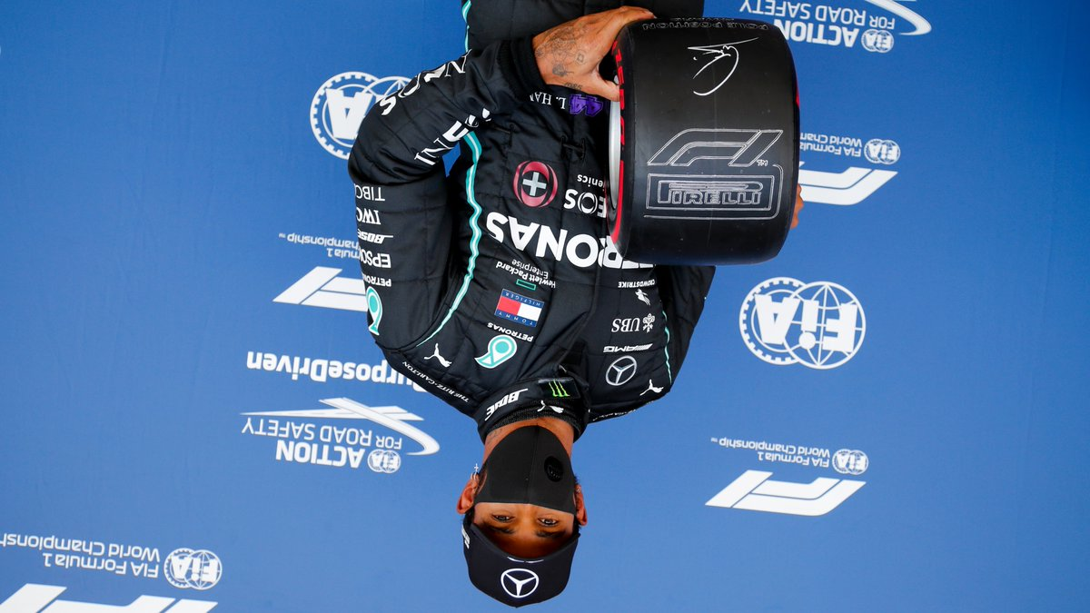 "Must be fucking tiresome...  ""I want to turn the whole thing upside down We'll sing and dance to Mother Nature's songs This world keeps spinning and there's no time to waste Well it all keeps spinning spinning round and round and Upside down""  #F1 #LH44 #HaasTag https://t.co/qMewhxfL3D"