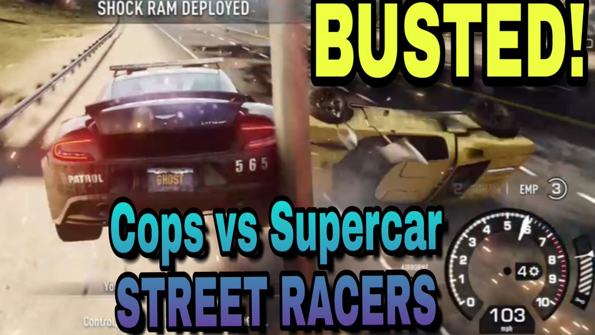BUSTED! Cops vs Supercar Street Racers - Need for Speed Rivals WATCH: https://youtu.be/pM8AXiNuz8kpic.twitter.com/0CPRju8gvw