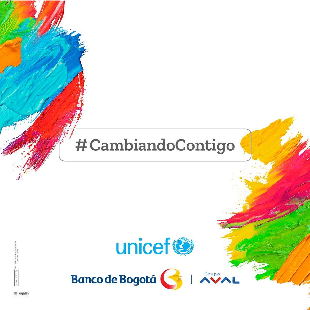 Viene ahora el turno de  @Fonseca en el festival  https://t.co/rVViRWN9rT. Con  #CAMBIANDOCONTIGO la meta de @UNICEF y el Banco de Bogotá es recoger fondos para 100.000 niños. 💙💙💙 https://t.co/WX3JyH5l7J