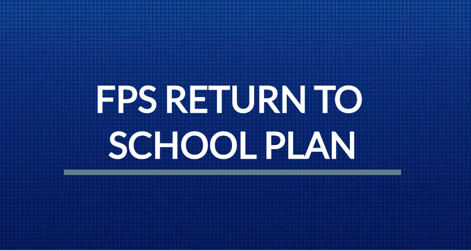 "Franklin Public Schools: Return to School Plan - ""remote setting for students in grades K-12"""