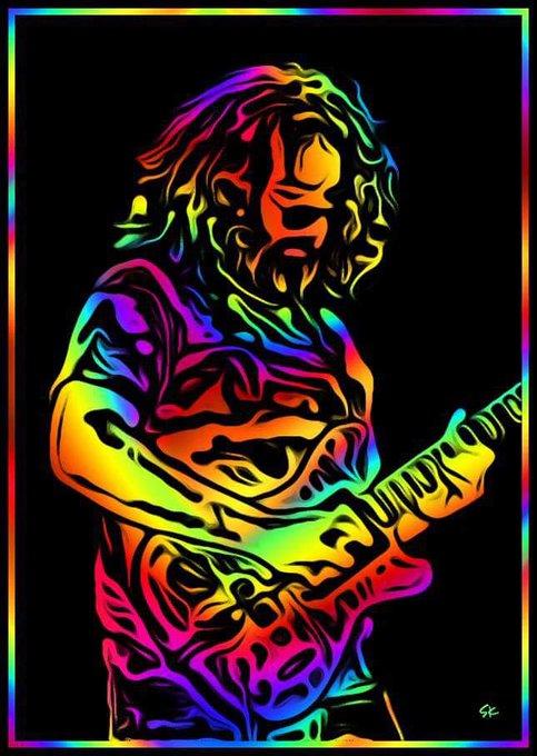 Happy Birthday Jerry Garcia! Rain peace and love on us Jerry