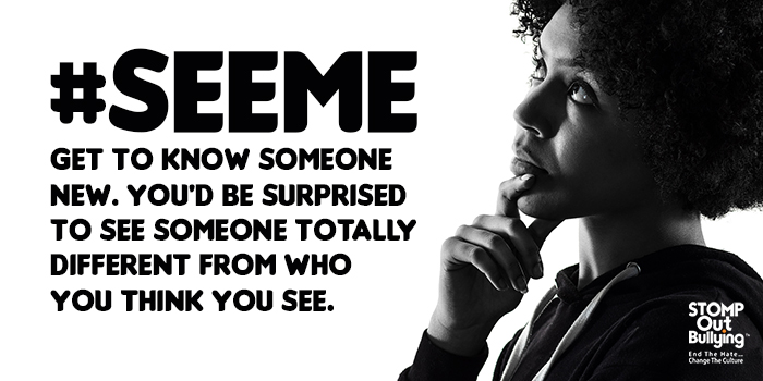 Hatred & prejudice are contagious & cause pain to others, which makes the harm escalate. There is no room in this world for hatred, bias, discrimination or violence! Let's tear down the barriers and end the hate! Join the #SEEME campaign. Learn more ➡️ https://t.co/WlLPyhrn6y https://t.co/0M9vayUU8o