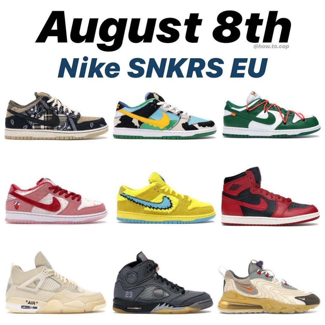 SNKRS Day 2020 so far