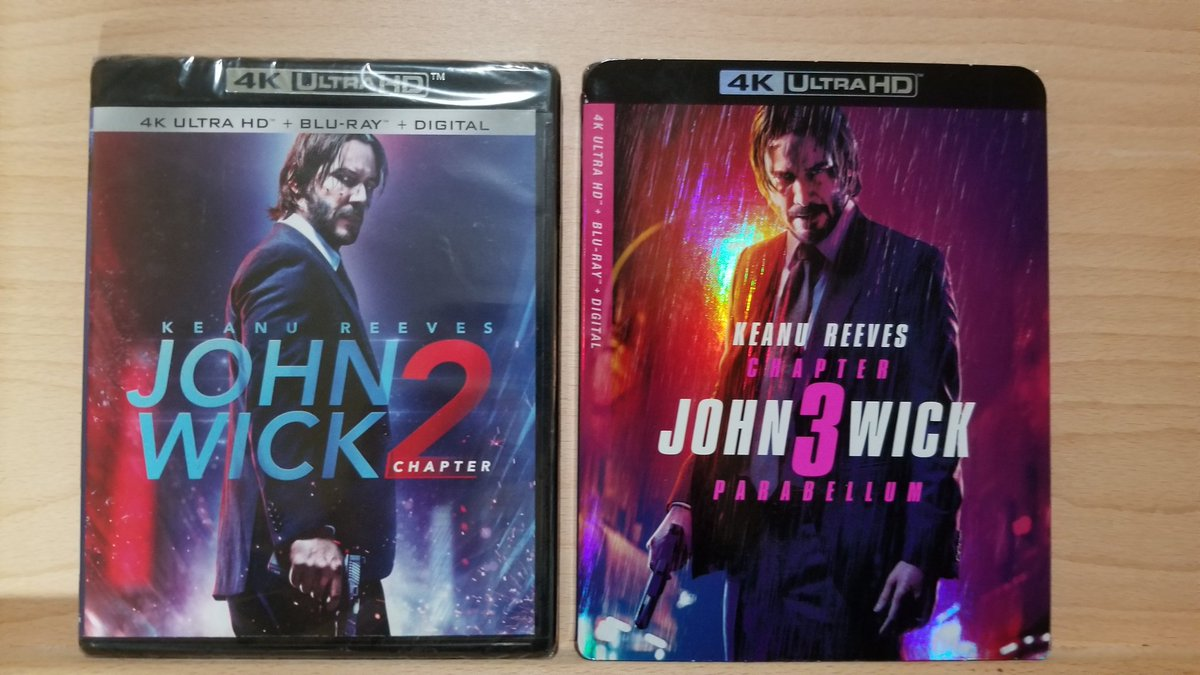 I really wanted to watch these this weekend but I'm still waiting on my Phillip's Hue Play Light Bar which would look amazing for this #JohnWick2 #JohnWick3pic.twitter.com/7iYsuD4meX