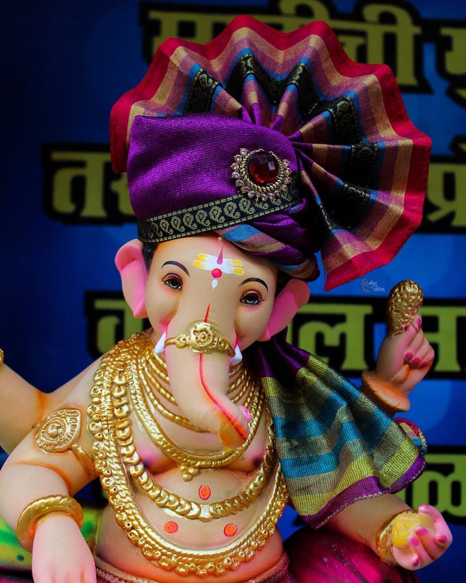 प्रथम तुला वंदितो कृपाळा, गजानना, गणराया!! Photo Credit - @Himansh81065163  #ganpatibappamorya #ganpati_bappa_morya08 #gbm08 @GBM08_pic.twitter.com/Kwh0qzjYFz
