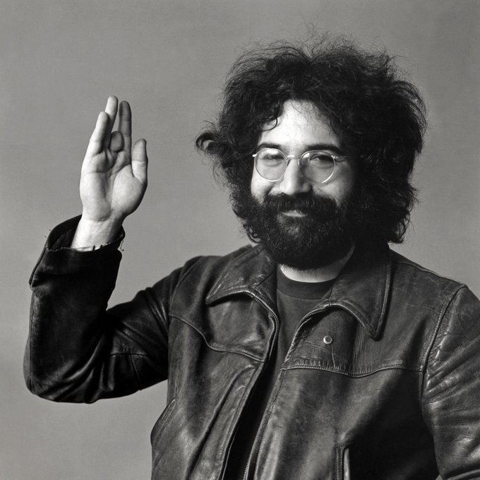 Happy birthday to Jerry Garcia. So damn hip they named an ice cream after ya.