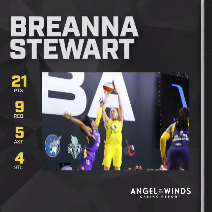 ⛈️ Stewie stuffs the stat sheet and is your @aotwcasino Player of The Game! ⛈️  @breannastewart  #StrongerThanEver https://t.co/GXHPRXXbra