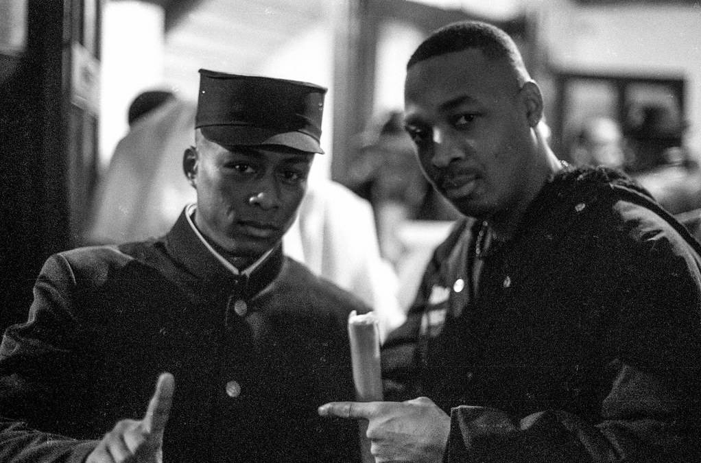 Happy 60th birthday to Chuck D. & Professor Griff from the legendary group Public Enemy.