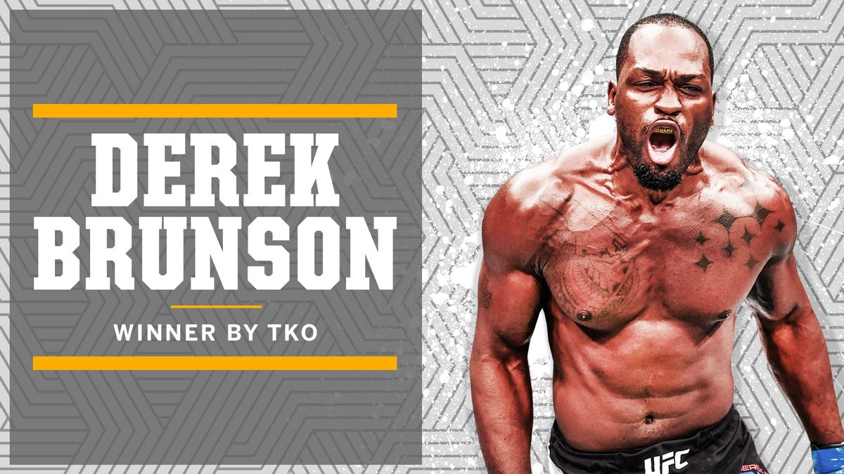 Put some respect on Derek Brunson's name 😤 #UFCVegas5 https://t.co/UlyeTyDa23