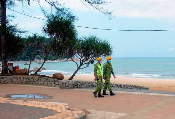 Polis cadang hadkan kemasukan ke Teluk Cempedak supaya penjarakan fizikal dipatuhi astroawani.com/berita-malaysi… #AWANInews #AWANIpagi #DisiplinMalaysia #HapusCOVID19