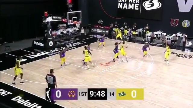 🎥 Check out the full highlights of our 81-75 win over the @LASparks 🎥  Presented by @Symetra   #StrongerThanEver https://t.co/WDAhXARO9K