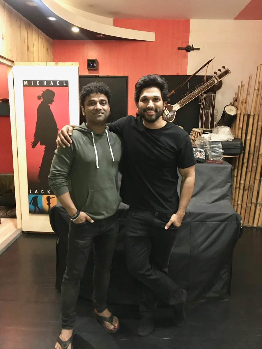 Many many happy returns of to my friend and my music director for most of my film @ThisIsDSP . Wishing you a beautiful day and a lovely year to come . https://t.co/m9uoT9Ti1g