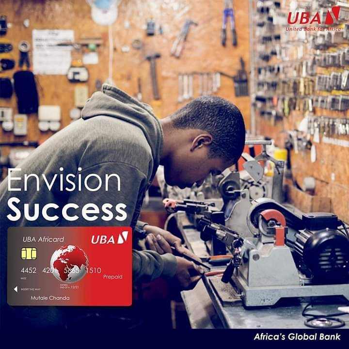 """You don't need to have a 100–person company to develop that idea."""" – Larry Page #SundayStartup #AfricasGlobalBank #UBAZambia https://t.co/LToU14sSBI"""