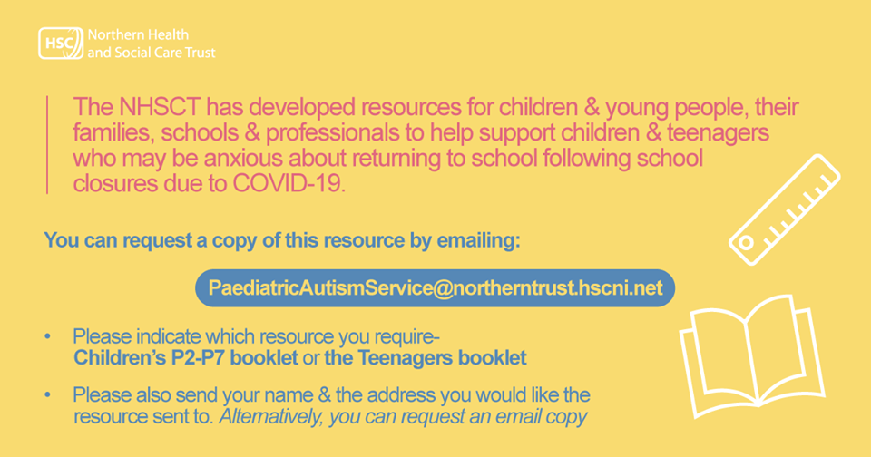 Free resources to support children who are anxious about returning to school