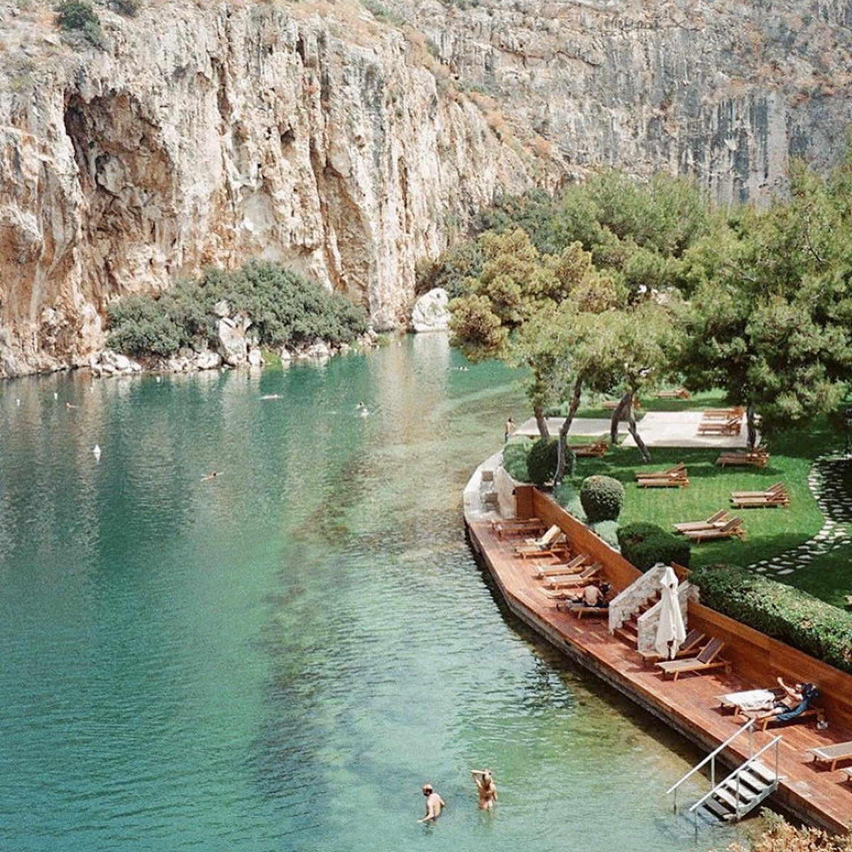 Explore INcredible Lake Vouliagmeni & swim all year round at this peaceful thermal spring lake // http://insightsgreece.com  launching August 2020 @nomadluxuries @lake_vouliagmeni_athens @viviemoraitou @perikles_merakos #wu_greece #greecesummer #athens #vouliagmenipic.twitter.com/J0vs47h876