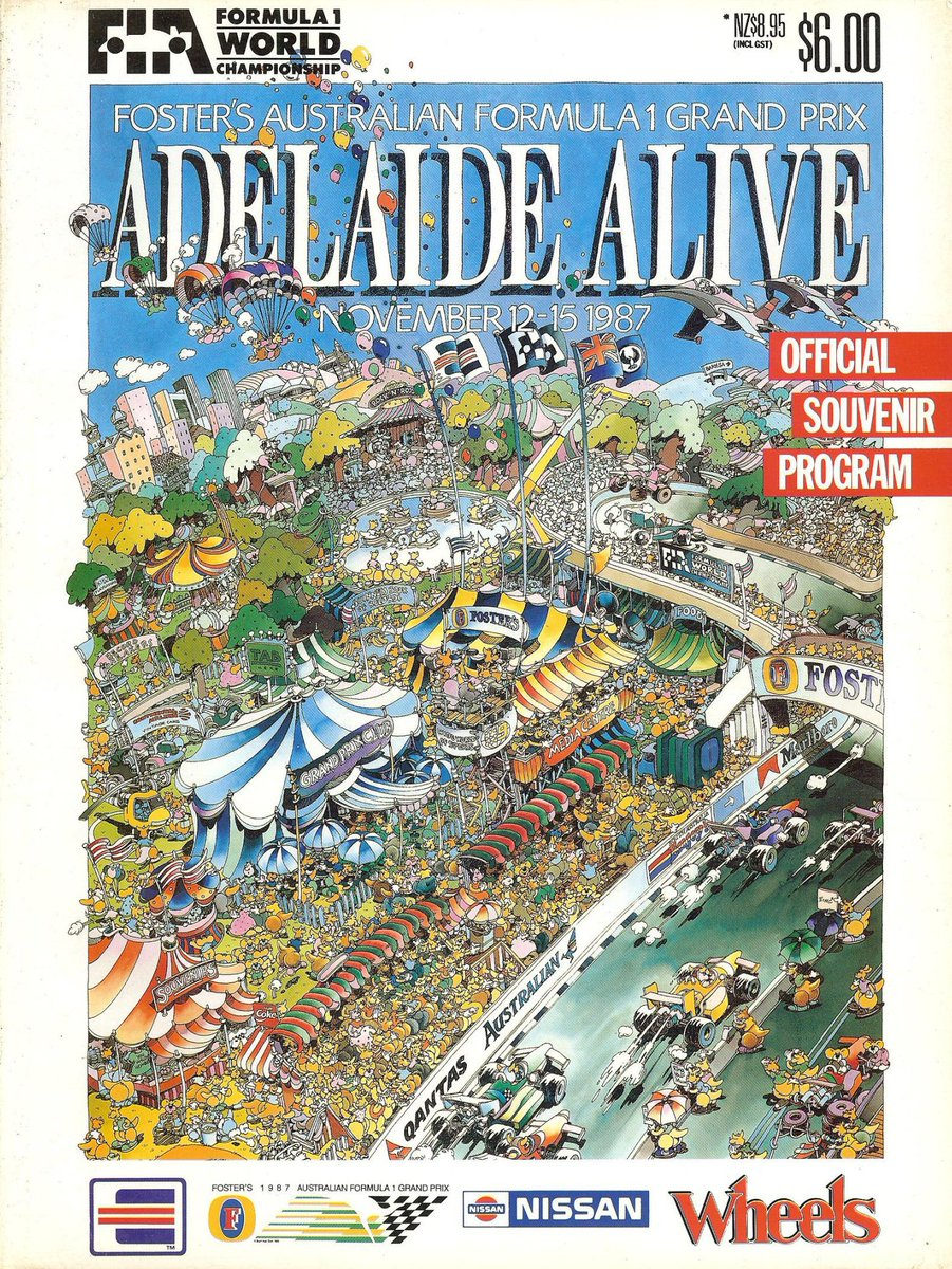 GIVEAWAY! 'Retweet' and 'like' this tweet to go into the running to win a copy of the 1987 Adelaide Grand Prix program. Winner announced August 31. #F1 #Adelaide https://t.co/hqKiLYAyCn