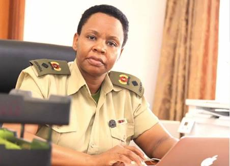 A belated happy birthday to my sister Lt.Colonel @edthnaka. May Almighty God continue to bless you in your important work for the country Edith.