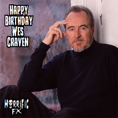 Happy birthday to the legendary horror director Wes Craven who was born on this day in 1939!!