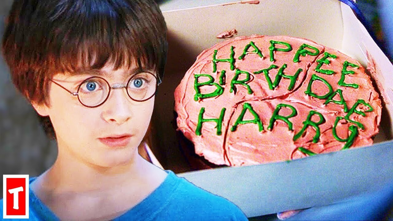 Happy Birthday Harry Potter up to 40 years old        !!