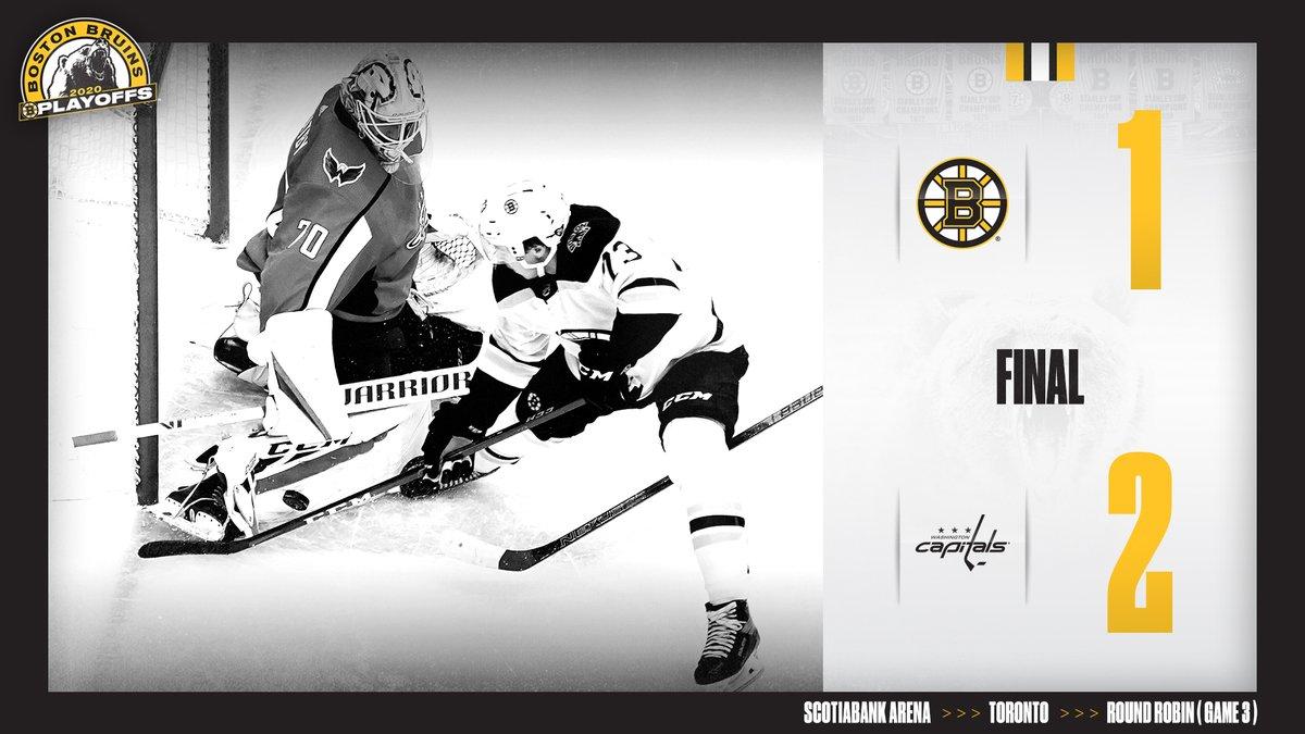 Final. #NHLBruins