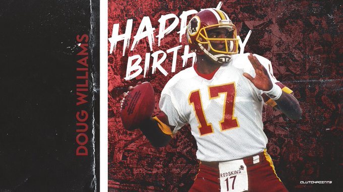 Join us in wishing Doug Williams a happy 65th birthday