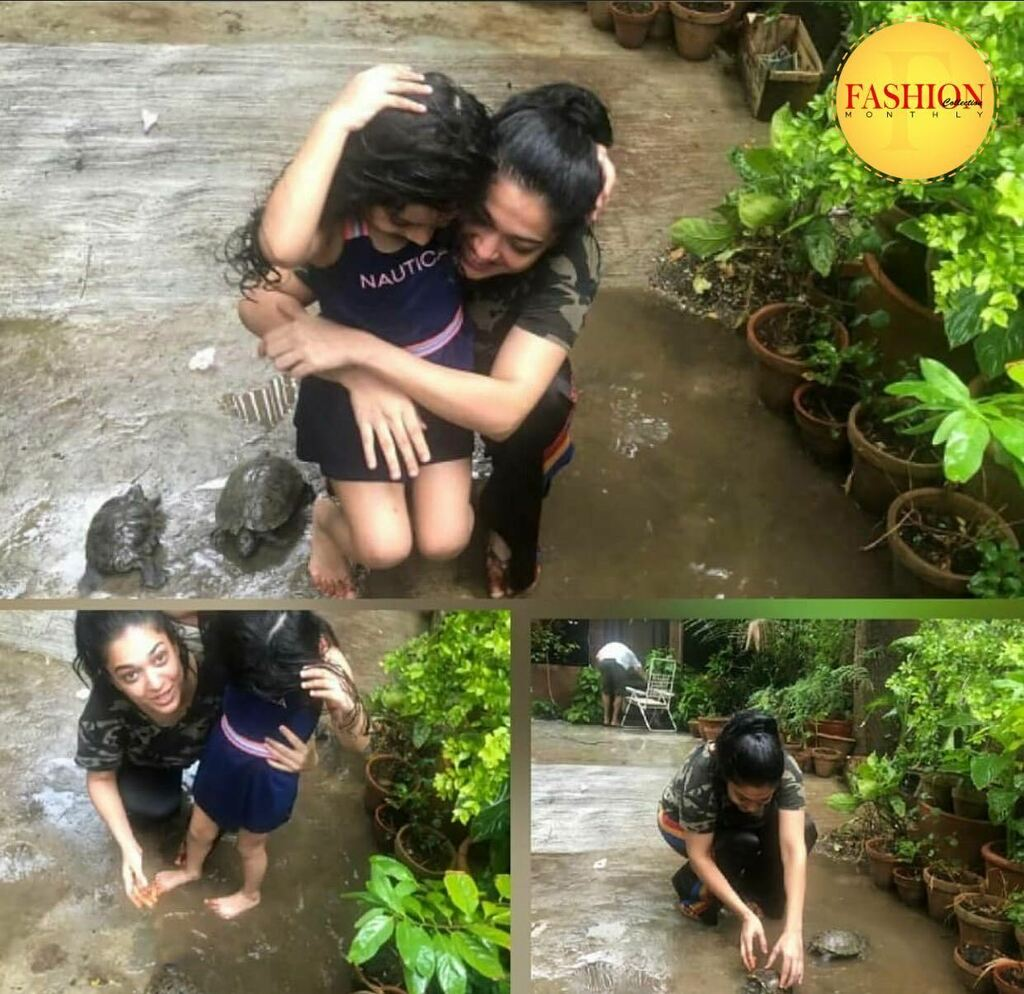 Rainy season with her daughter 😍 . #Fcmag #sunday #fun #times #moonsoon #celebration #actors #showbiz #2020 #August https://t.co/5UXhFB2roy https://t.co/1Qg3PVNV2s