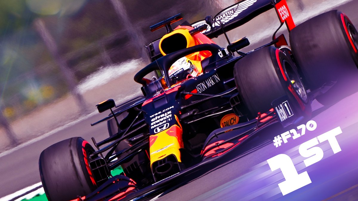 🏆 @Max33Verstappen joins the 2020 winners! A cunning move to start #F170 on hard tyres was key to the race victory #F1 https://t.co/8WoJXZkPz8