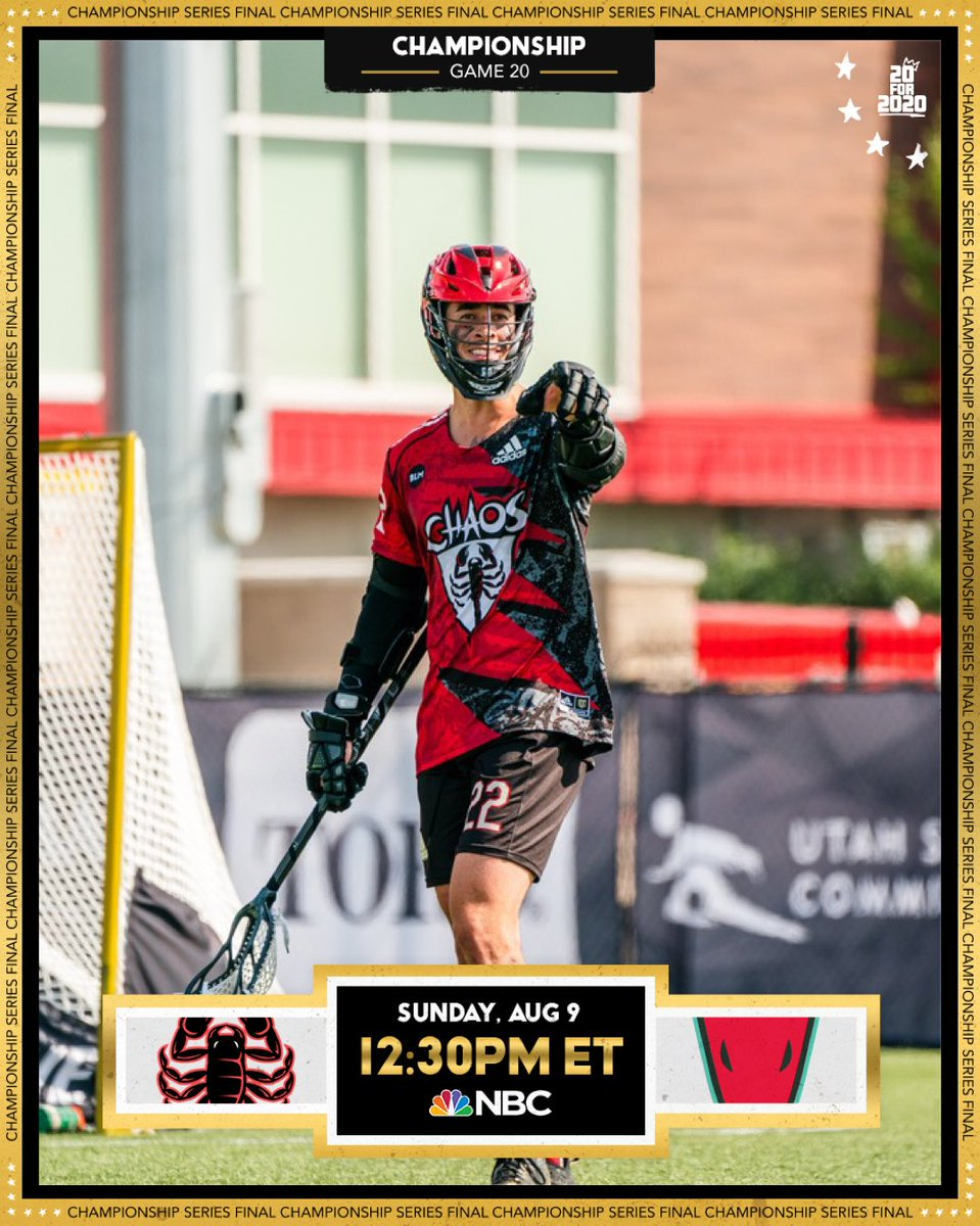 This is it, last game of the year.   Watch @Joshbyrne94 and @PLLChaos take on @PLLWhipsnakes in the @PremierLacrosse Championship Game on NBC at 12:30 pm EST  #RoarWithPride #HofstraFamily https://t.co/7Sta9E8438