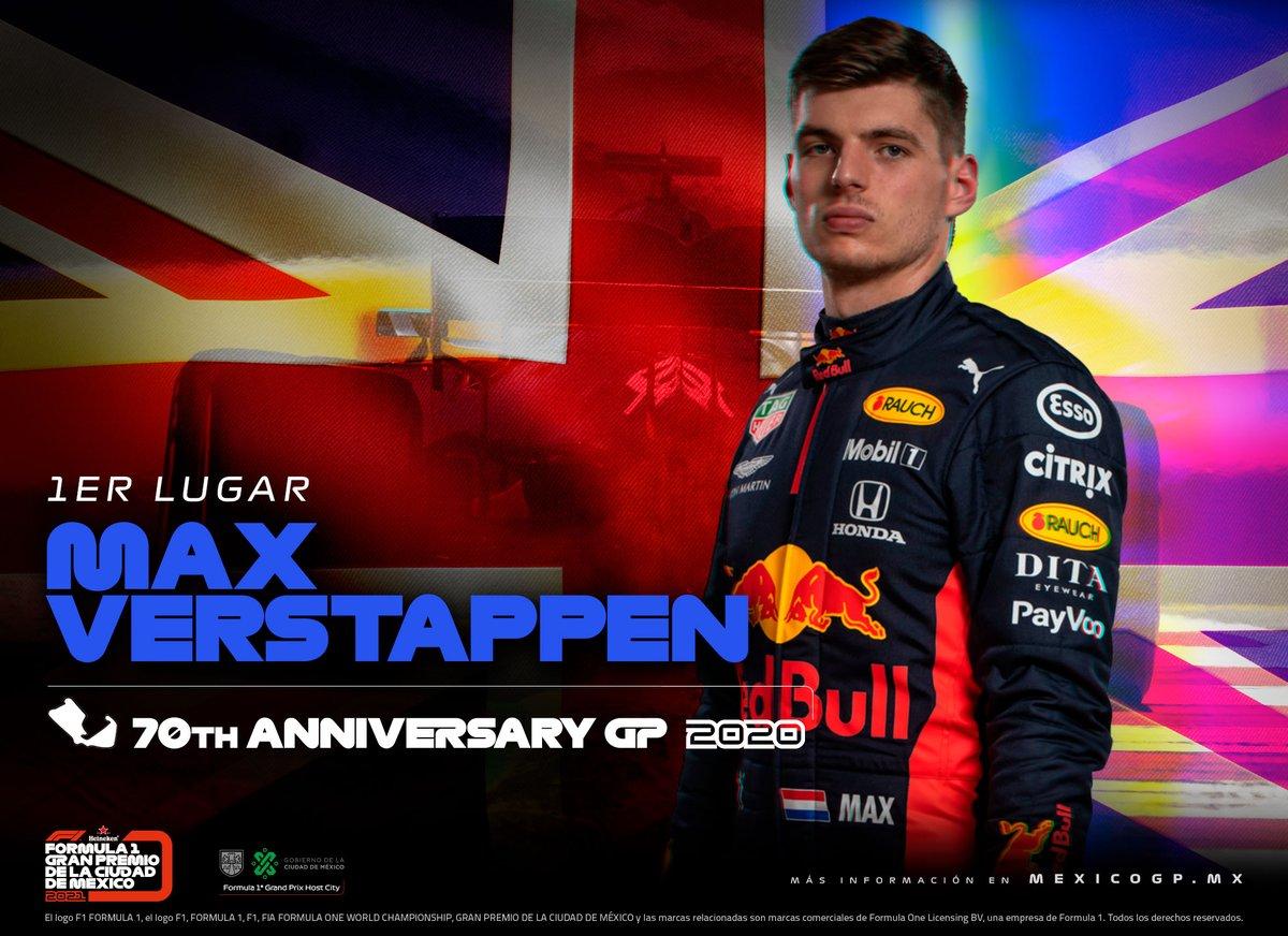 ¡@Max33Verstappen se lleva la victoria del Gran Premio del 70 Aniversario! 🏆🇬🇧 #F170 https://t.co/OUZUgfCgdD