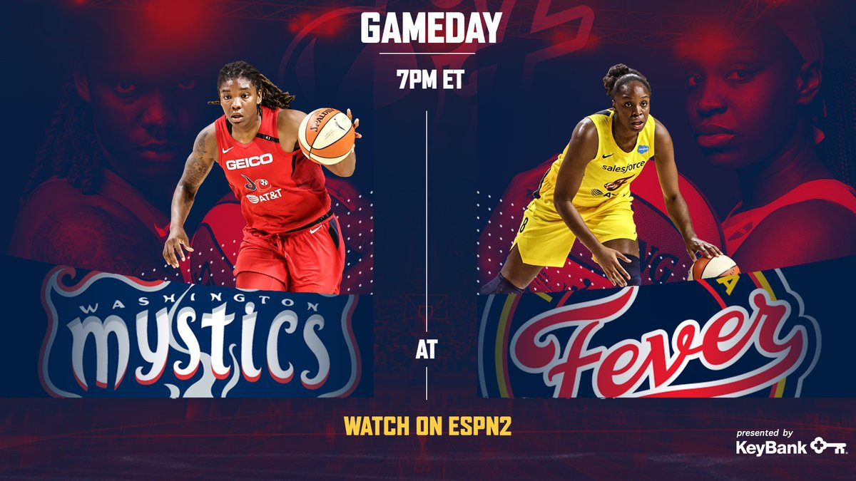 It's a beautiful day to bounce back 😤  🆚: @WashMystics  ⌚️: 7:00 pm ET 📺: ESPN2 📱: https://t.co/figV4EnGsV  PREVIEW » https://t.co/hkgypEVj74  #ThisIsBallin https://t.co/J5PXLNCZCr
