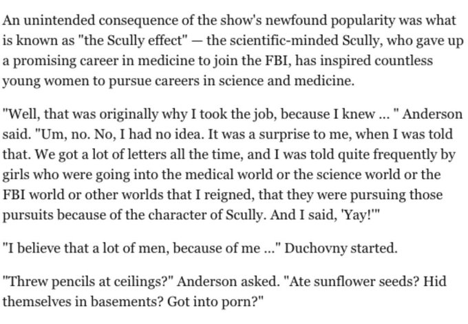 Happy birthday to gillian anderson and the memory of this interview
