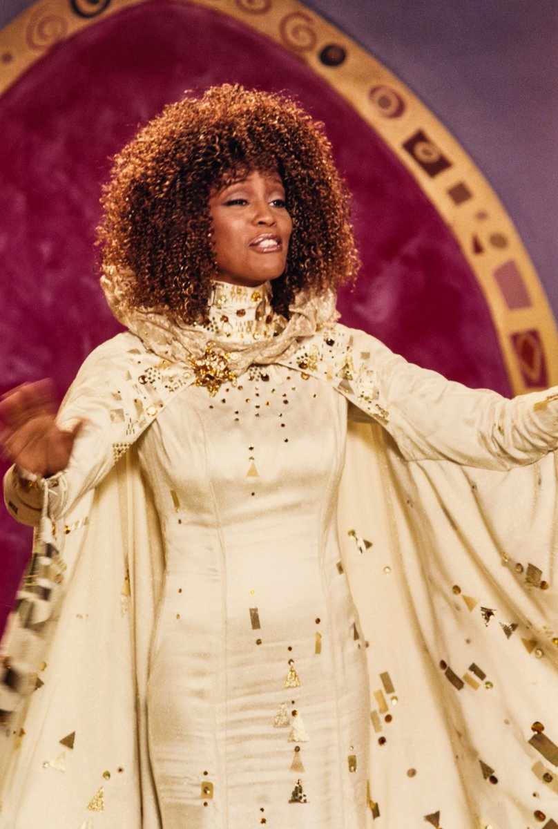 Impossible things are happ'ning every day! Today, we celebrate the birthday of the legendary Whitney Houston! In 1997, Houston executive produced and starred as the Fairy Godmother in @RnH_Orgs #Cinderella starring @4everBrandy on the @ABCNetwork! 💜🎂🎉