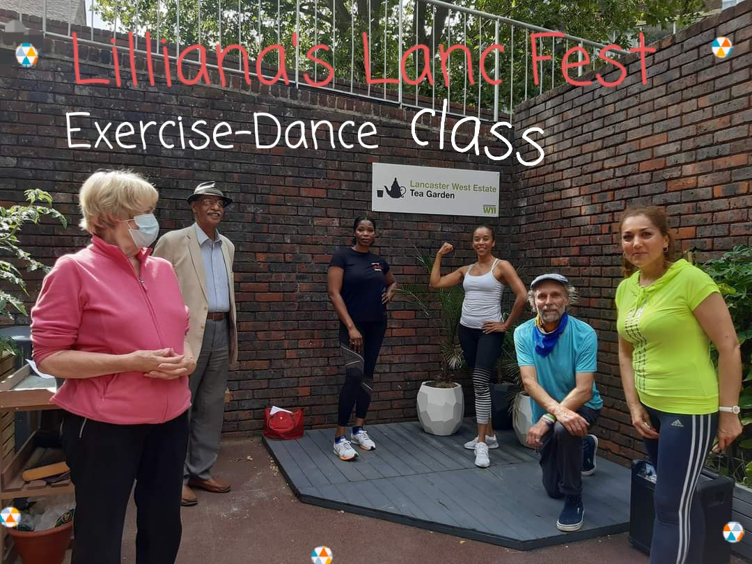 Lilliana's  #lancfest #danceclass was such fun & got a great reaction on line.  Must come back, by popular demand, asap pic.twitter.com/P4nOFMUdLC – at Ladbroke Grove