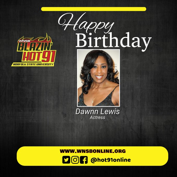 Happy Blazin\ Hot Birthday to Dawnn Lewis