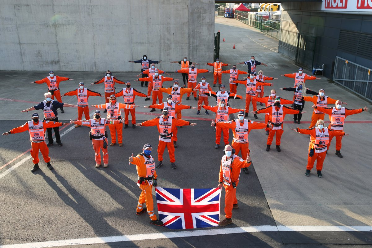 A huge thank you to each and every one of you. You make this sport happen 👏👏  #F170 #F1 #ThanksMarshal