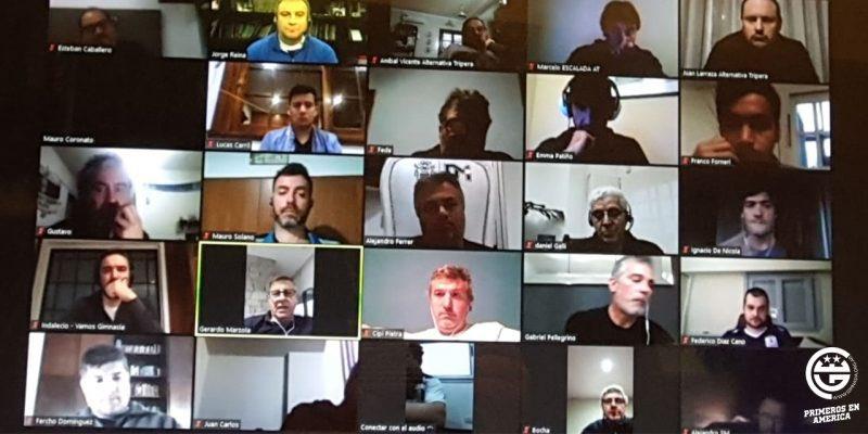 #CGE #GELP  | Varios integrantes del oficialismo se reunión de manera virtual con diferentes representantes de las agrupaciones políticas de #Gimnasia.pic.twitter.com/sQgU6v9b8z