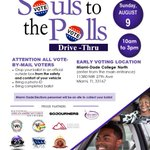 Image for the Tweet beginning: Happy Souls to the Polls