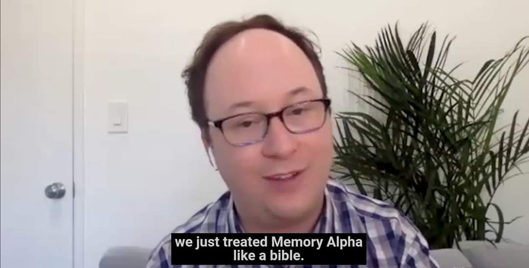Memory Alpha On Twitter From Mikemcmahantm The Creator Of Lower Decks