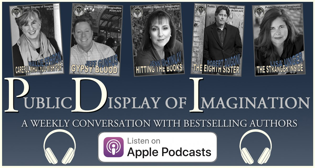 Hear your next favorite author talking about their latest release. Get #PDI #Podcast Adventures as they post; follow us on #iTUNES at >> https://apple.co/33kDNSs   Subscribe, eavesdrop on the conversations, and post a rating or review. #WritersLife #AmWriting #WritersCommunitypic.twitter.com/QFQEfIN4Cx