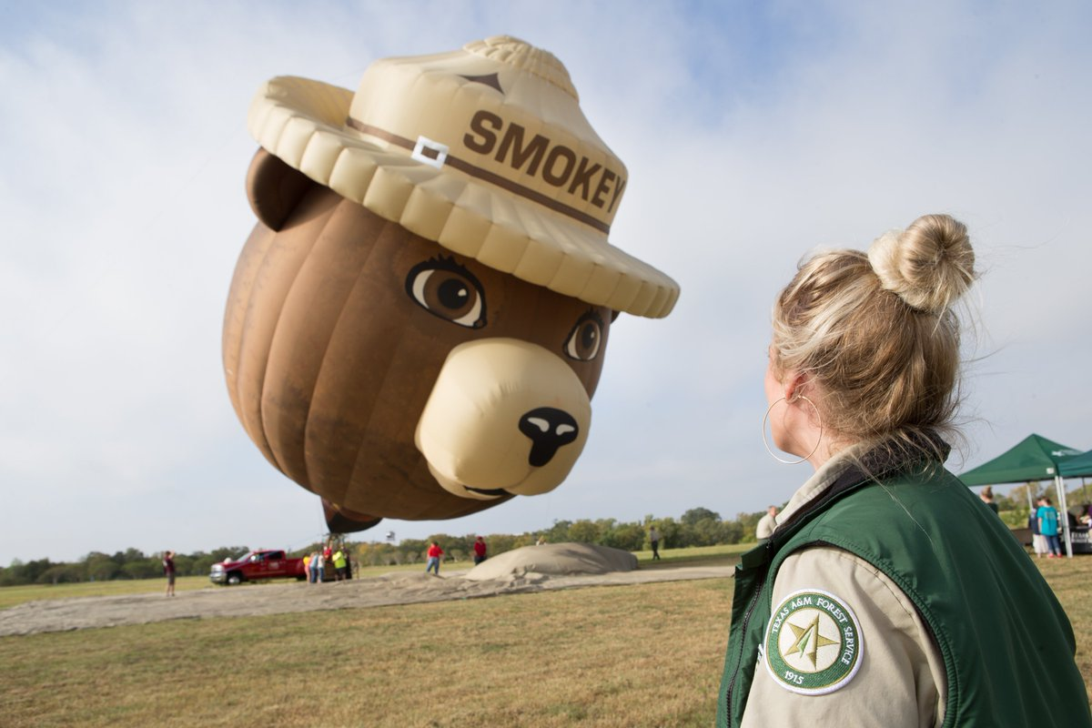 Its Smokey Bears birthday today! 🐻🎂 Last year, we hosted parties in public parks across Texas to share Smokeys timeless message. This years celebration may look different, but Smokeys message is just as important: #OnlyYou can prevent wildfires! #HappyBirthdaySmokey
