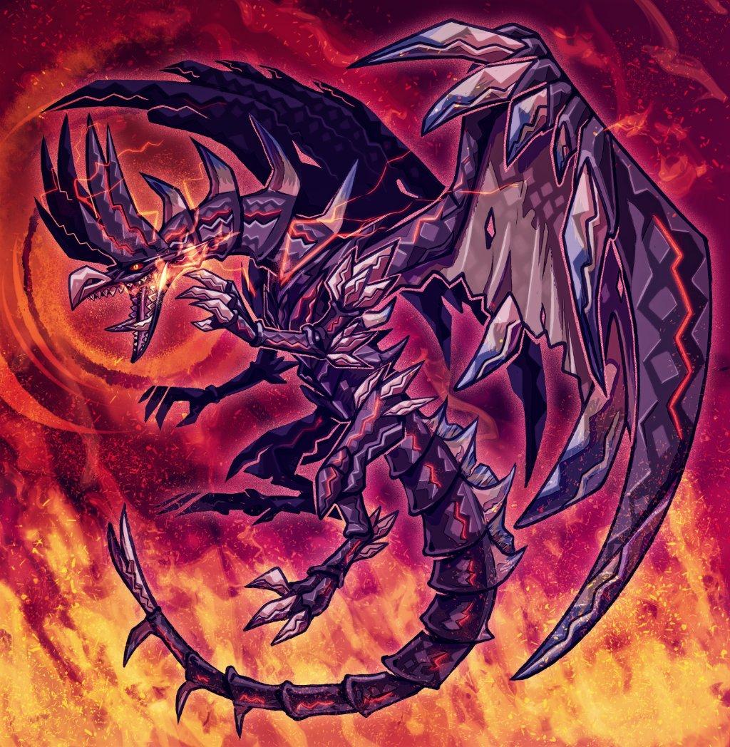 Cyjon S Tweet Red Eyes Black Alatreon Monster Hunter X Yu Gi Oh