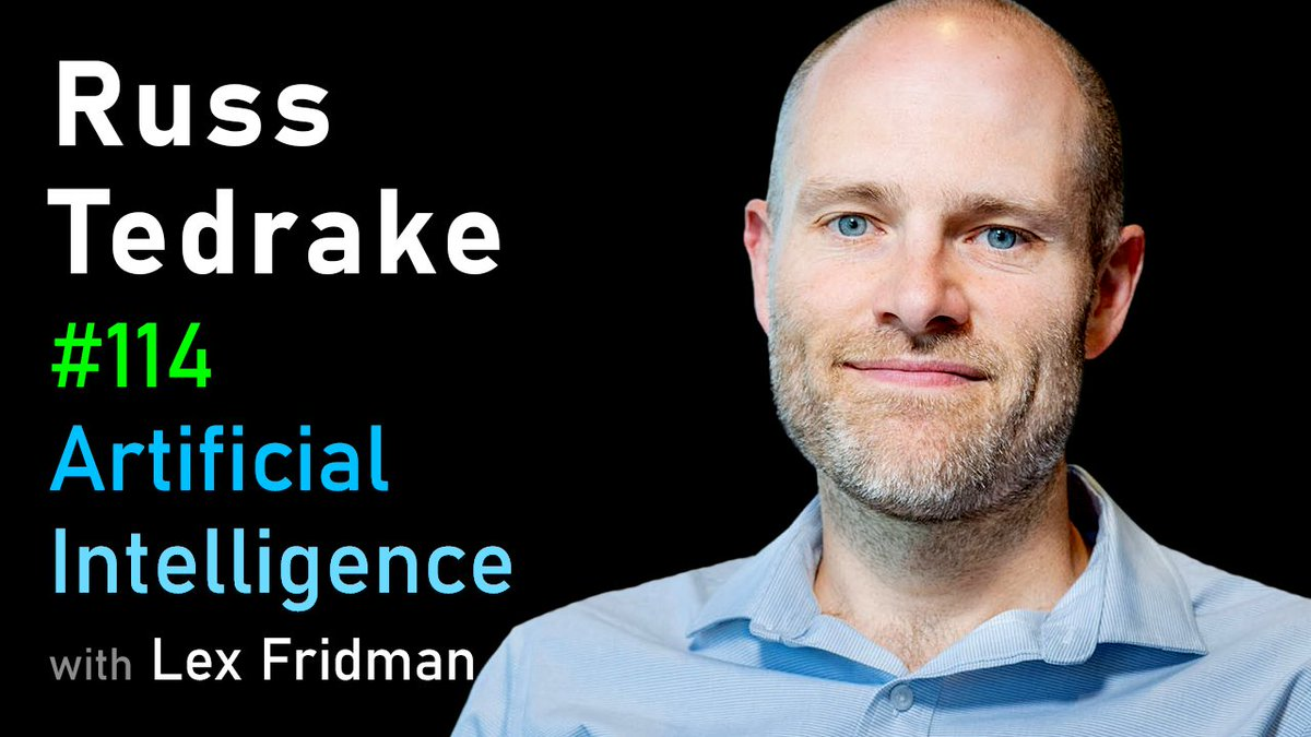 Heres my conversation with Russ Tedrake, a roboticist at MIT who builds robots that thrive in complicated, underactuated, difficult to model situations. He is also known for running almost a marathon a day barefoot. Fascinating & brilliant mind. youtube.com/watch?v=A22Ej6…