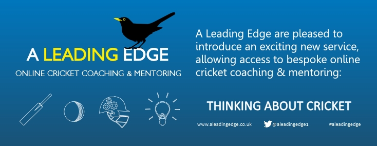 An exciting new way to get you cricket coaching & mentoring online from #aLeadingEdge. More news to follow. Whether developing the basics or getting deeper under the surface of the game, we look forward to thinking and talking about cricket with you. #onlinecoaching #cricketcoach pic.twitter.com/OllE7UEa5O